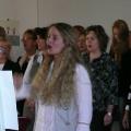 CHORnetto und Publikum singen gemeinsam